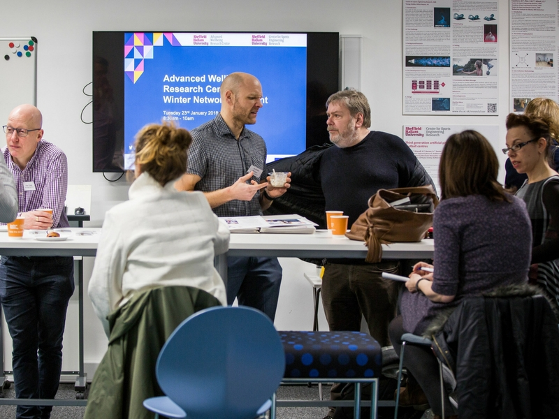 Advanced Wellbeing Research Centre winter networking event